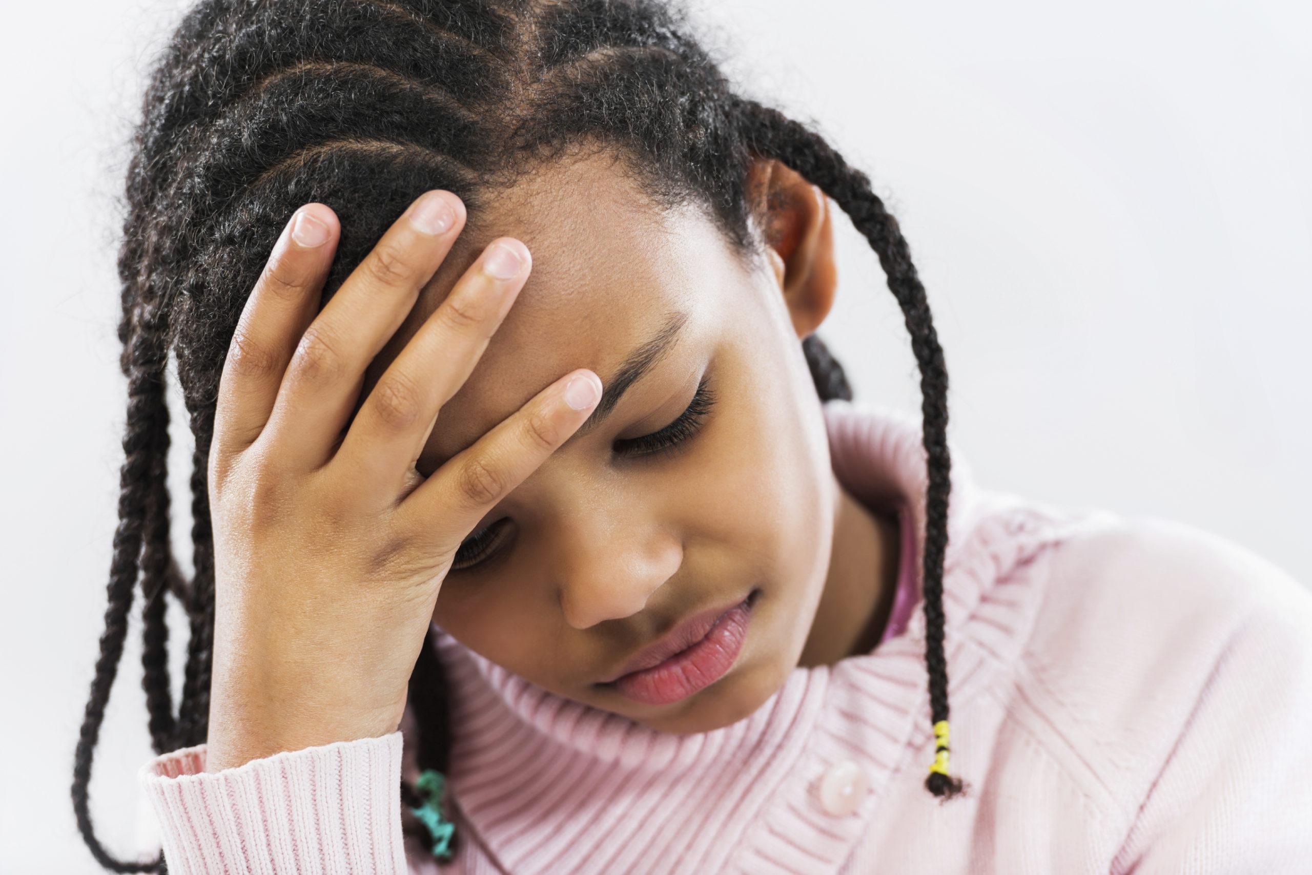children also suffer from headaches